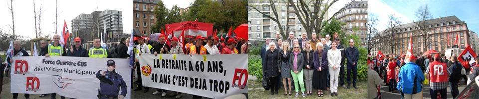 Force Ouvrière Ville et Eurométropole  de Strasbourg - Notre Force c'est Vous